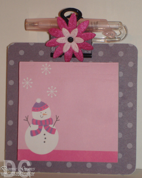Winter Coasters Pink