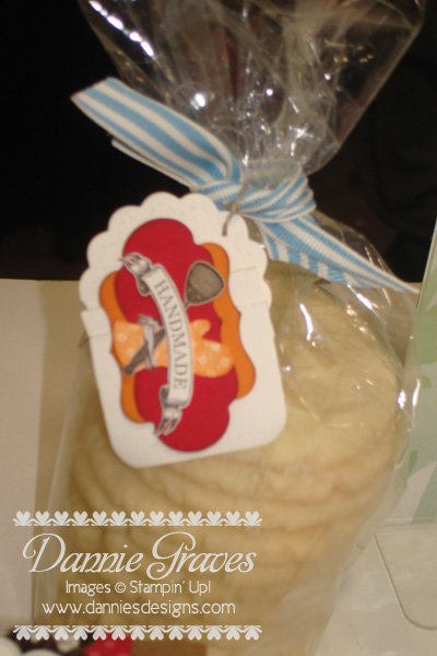 Cookies in a Cello Bag