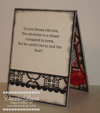 Mickey Card Inside