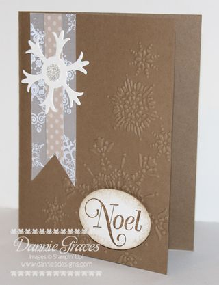 Snowflake Box Card