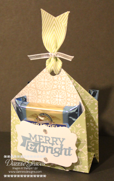 Ghirardelli pouch front