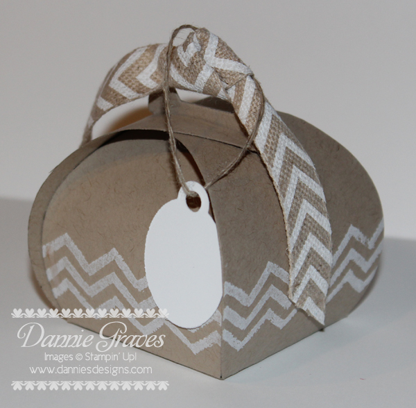 Chevron Keepsake Box