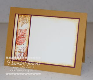 Fall Card Inside