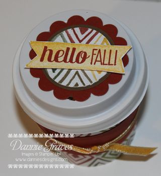 Fall Cup Lid