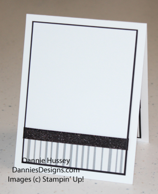 White card inside